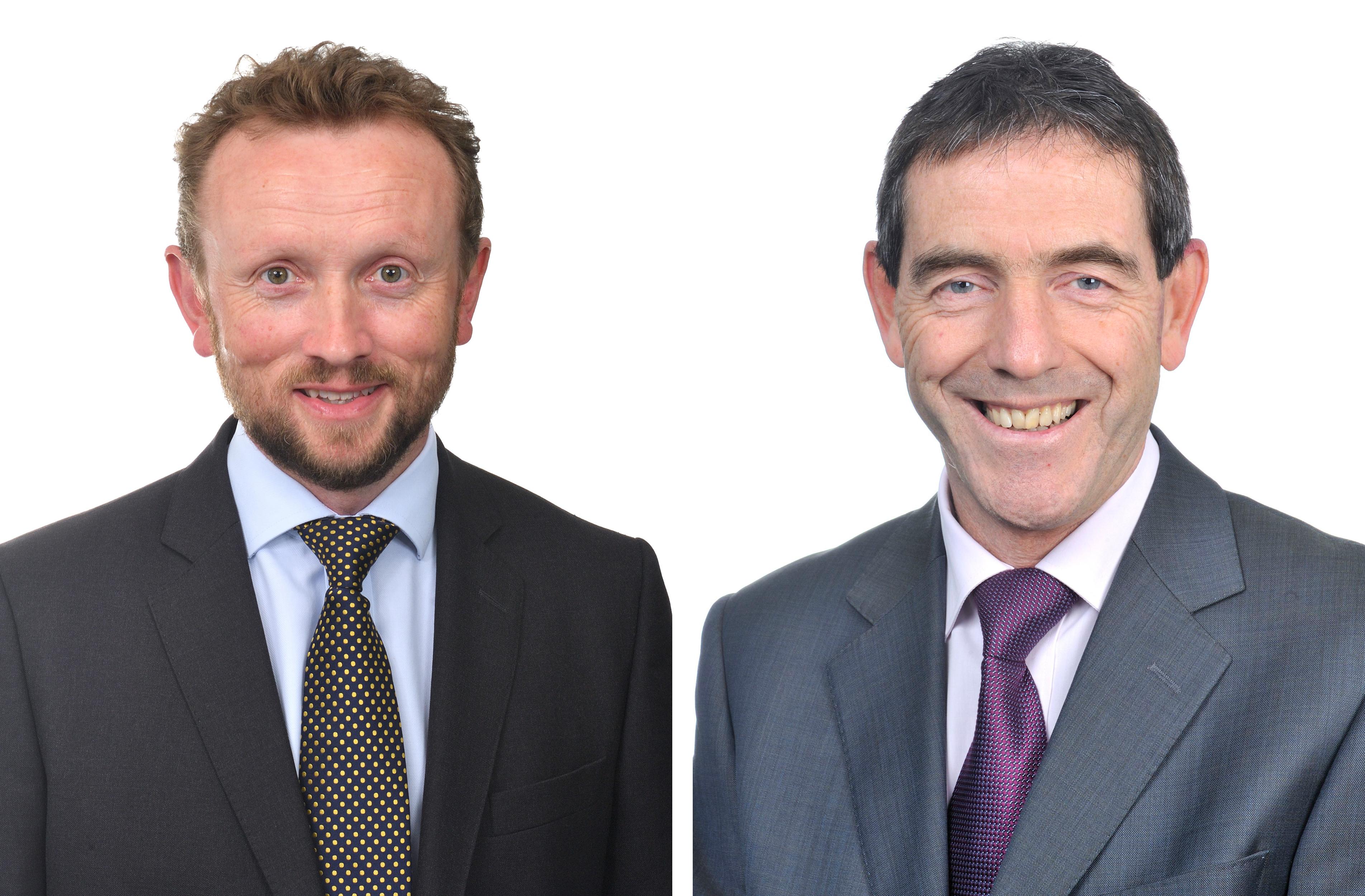Roy Farmer and David Bradshaw